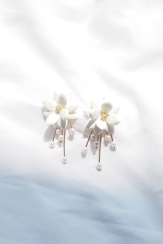 Chrissy 2 Way Flower Earstuds