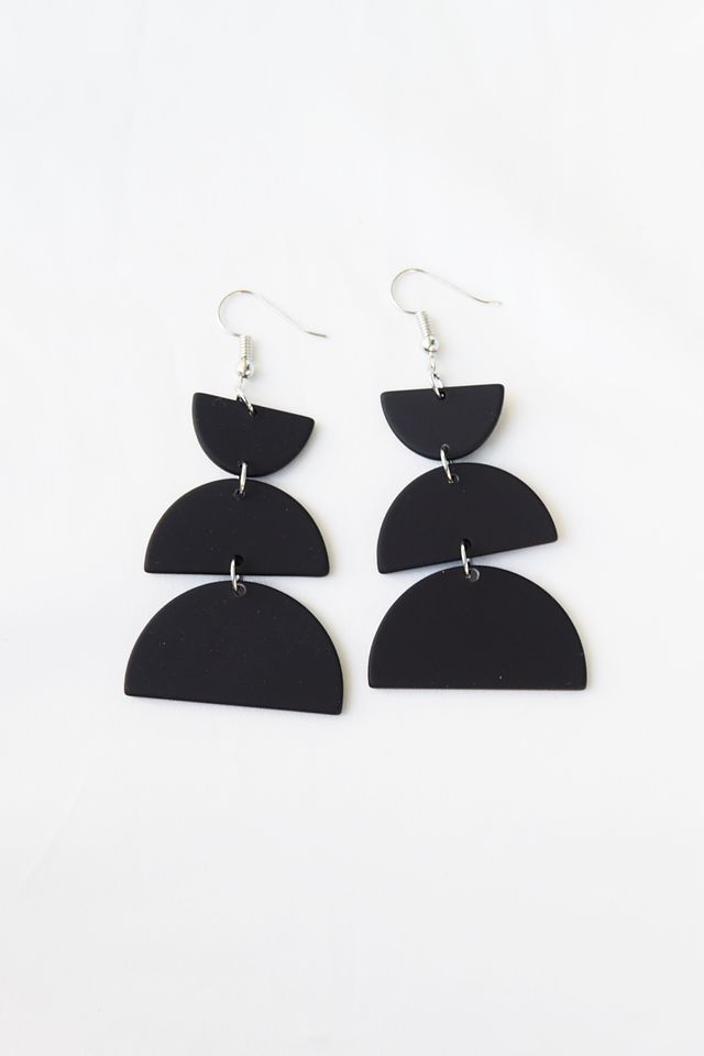 Geomtrically Inclined Earrings