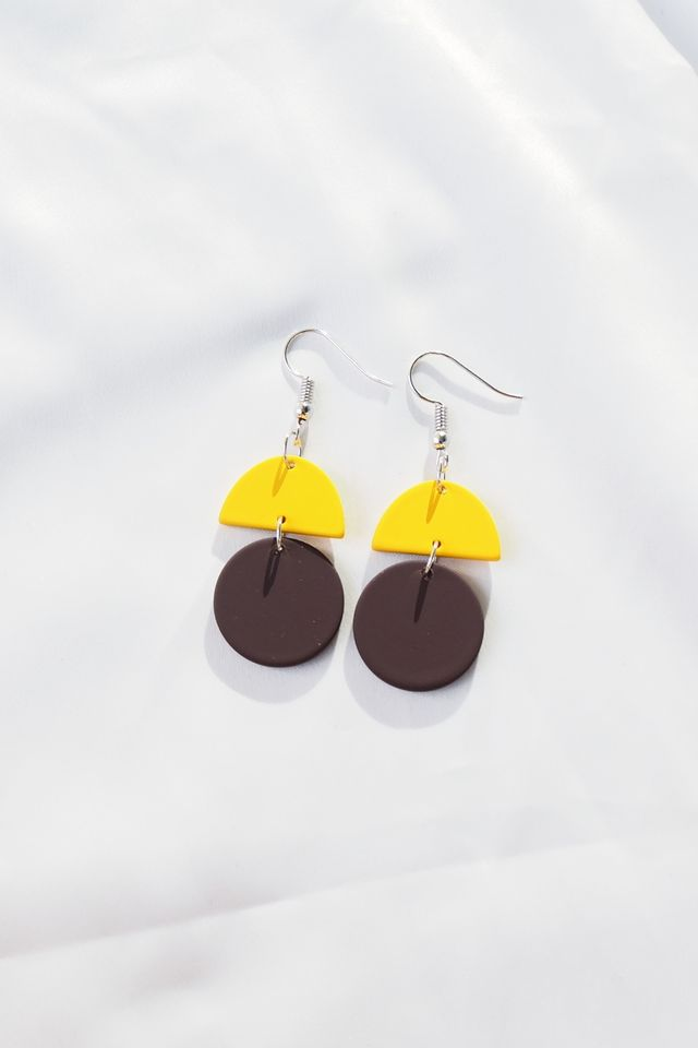 Sooj Earrings (Brown)