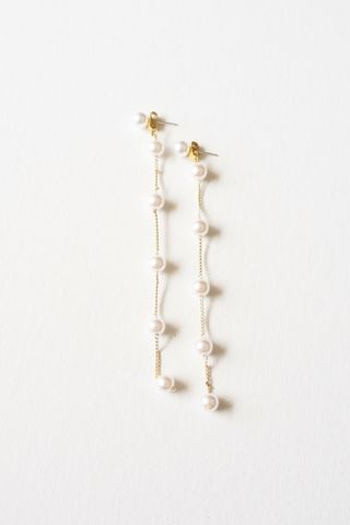 Pearl Dangle Earstuds