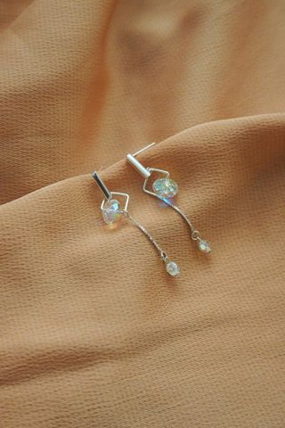 Mini Crystal Dangle Earstuds