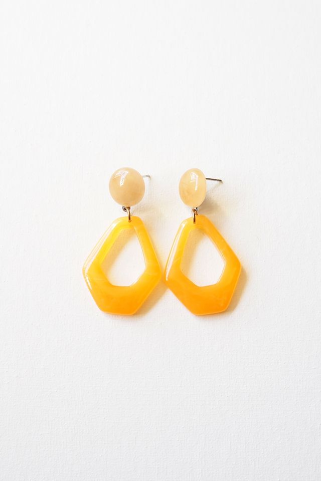 Mini Lorene Earstuds (Orange)