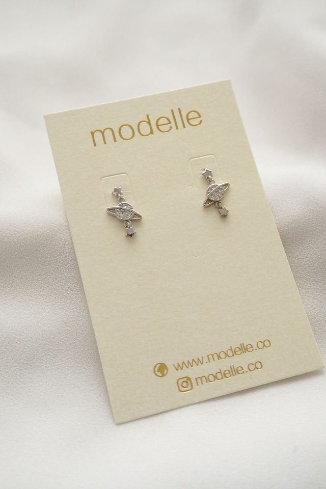 Outerspace Earstuds (Silver)