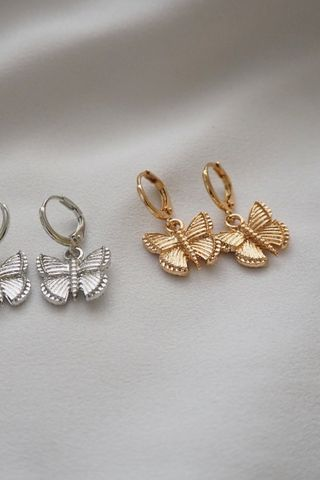 Butterfly Huggies (Gold)