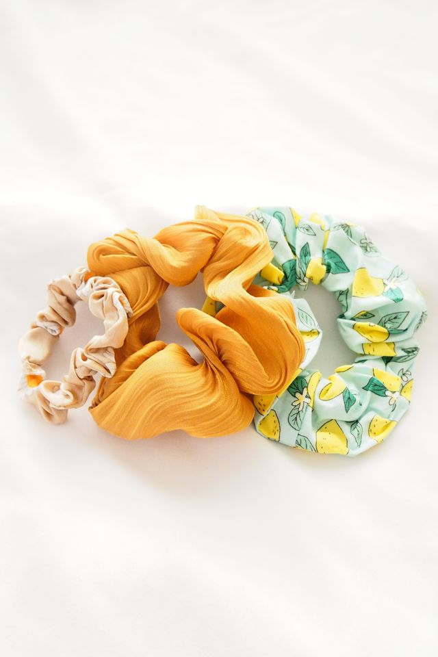 Scrunchies Set (Lemon)