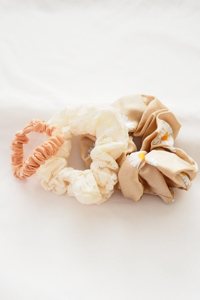 Scrunchies Set (Nudes)