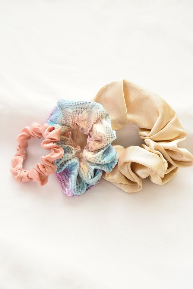 Scrunchies Set (Pastel Holo)