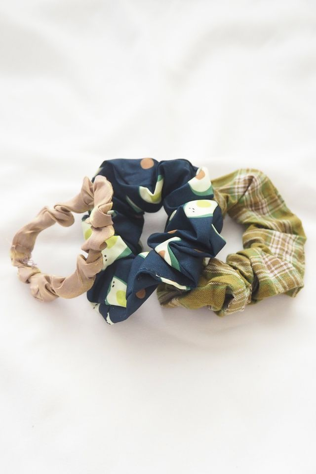 Scrunchies Set (Avocado)