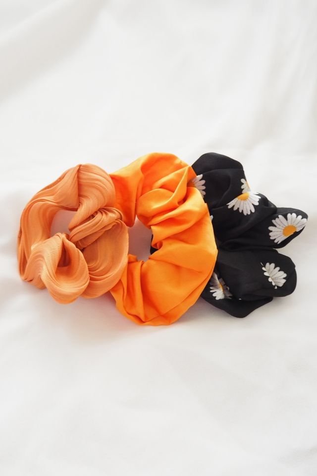 Scrunchies Set (Tangy)