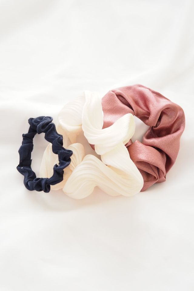 Scrunchies Set (Blush)