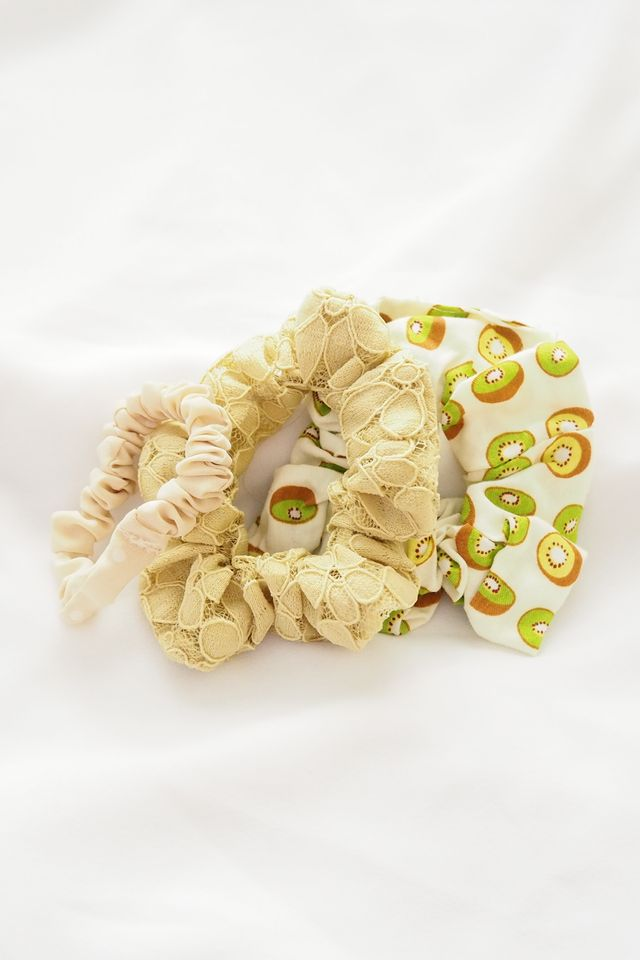 Scrunchies Set (Kiwi)