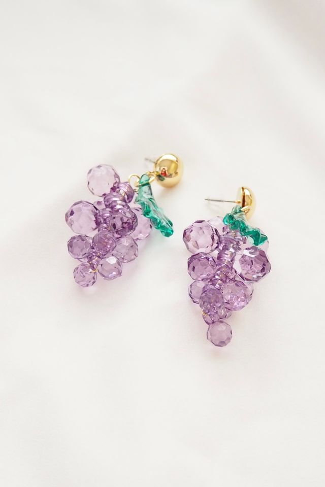 Grapes Earstuds