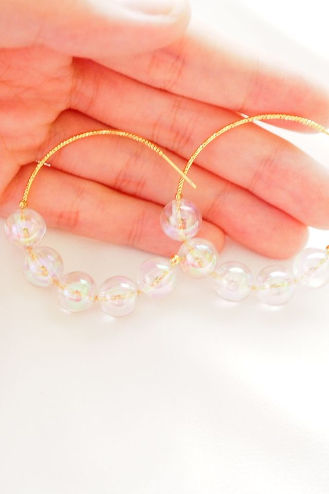 Bauble Hoops (Holographic)