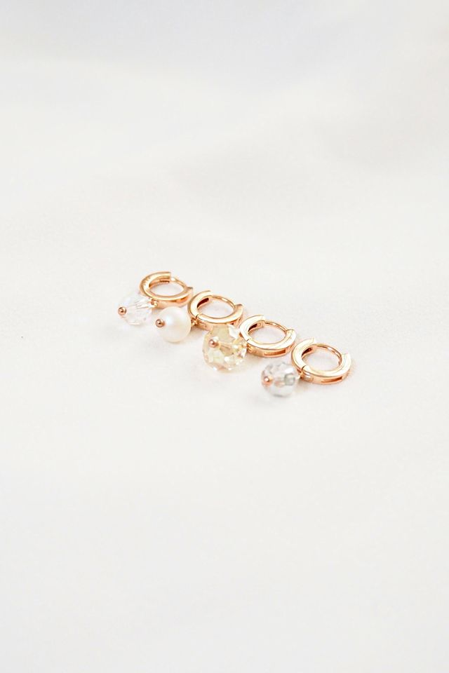 Rose Gold Huggies (Champagne)