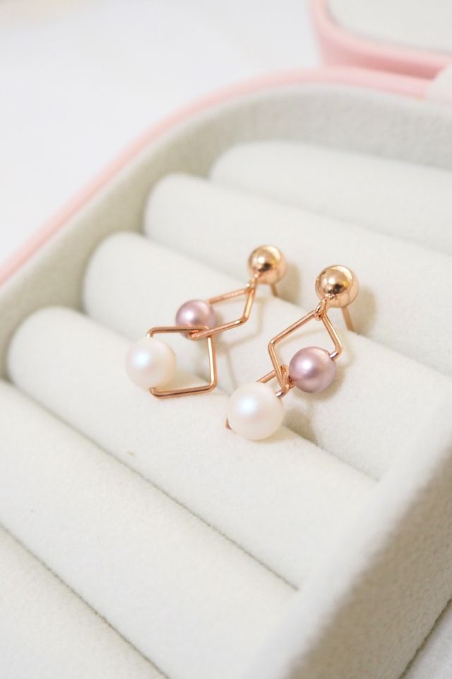 Mia Pearly Earstuds