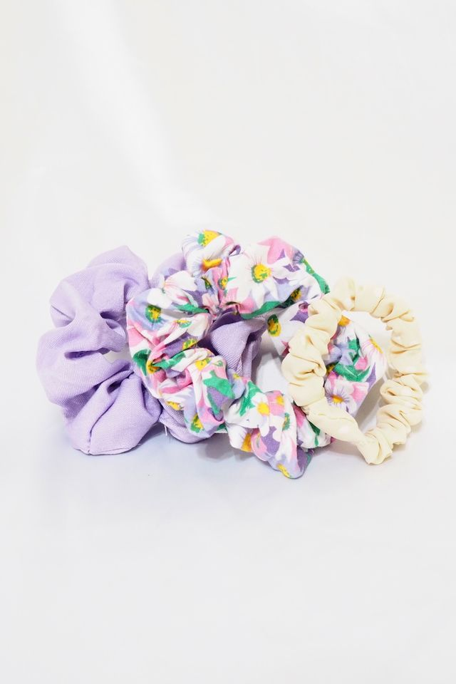 Scrunchies Set (Lavender)