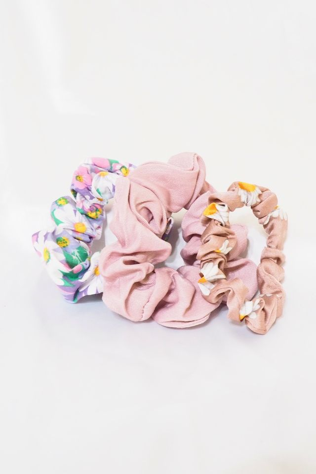 Scrunchies Set (Flora)
