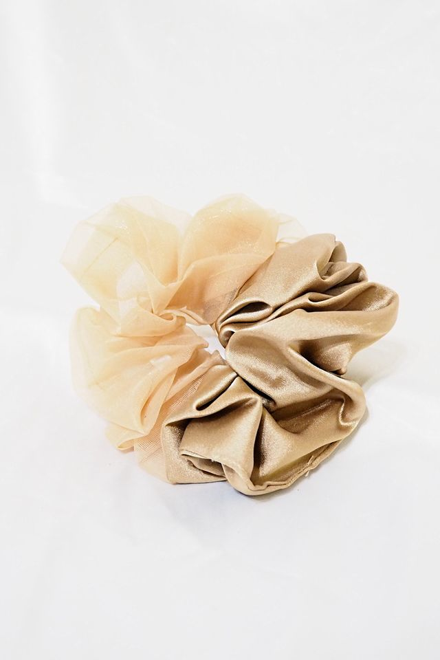Big Scrunchie (Duo Champagne)
