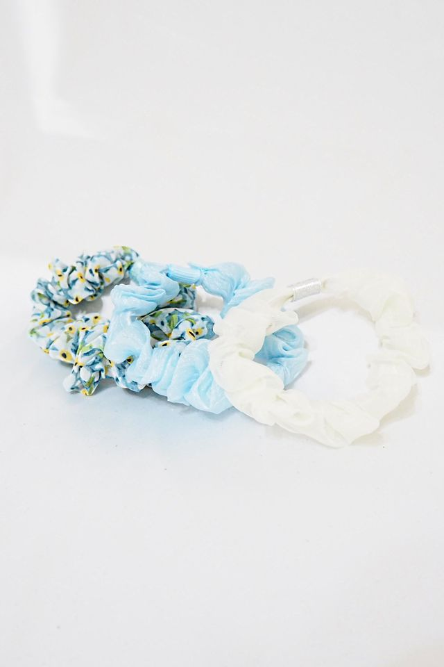 Scrunchies Set (Blue Minis)