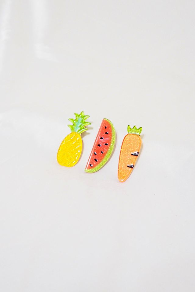 Fruity Barrette Set