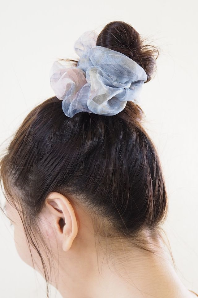 Big Scrunchie (Watercolour Blue)