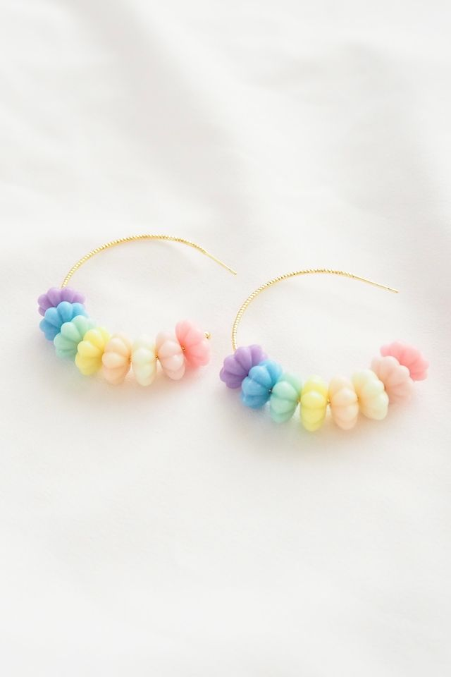 Rainbow Candy Hoops
