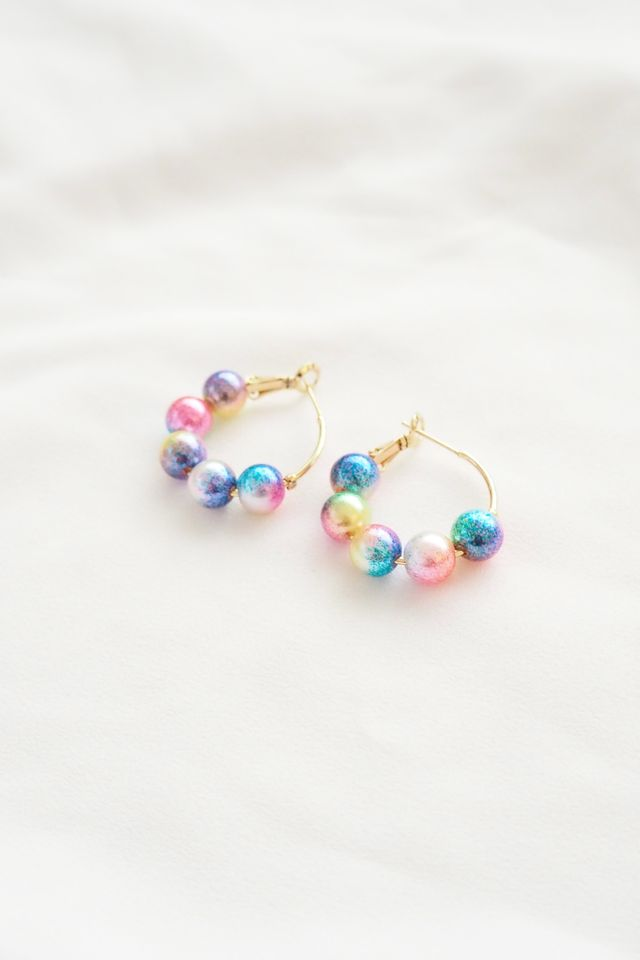 Mini Psychedelic Hoops
