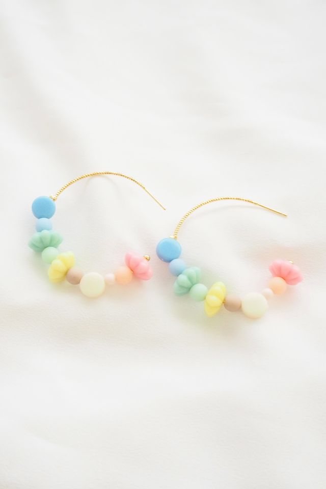 Rainbow Mix Hoops (2)