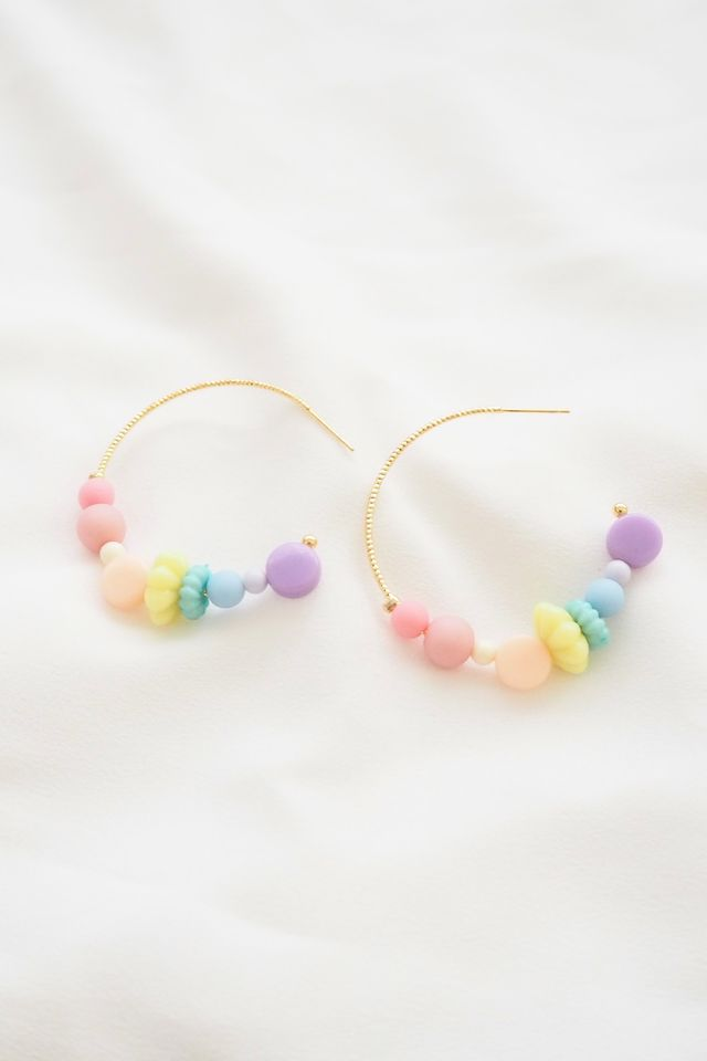 Rainbow Mix Hoops (3)