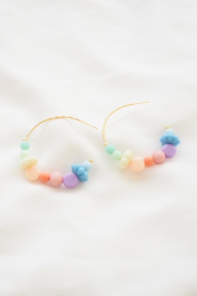 Rainbow Mix Hoops (4)