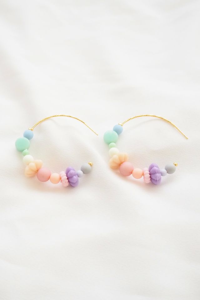 Rainbow Mix Hoops (5)