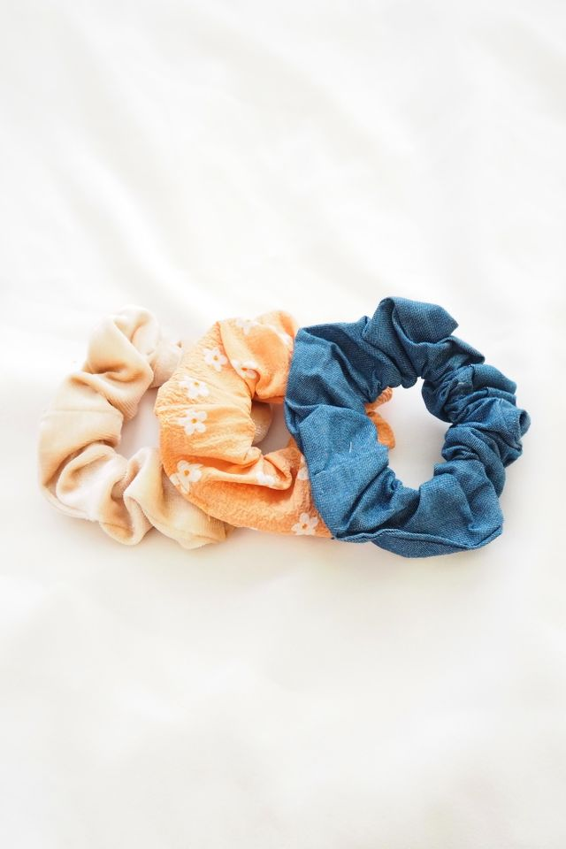 Scrunchies Set (Orange)