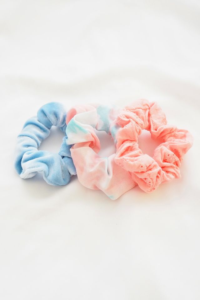 Scrunchies Set (Tie Dye)