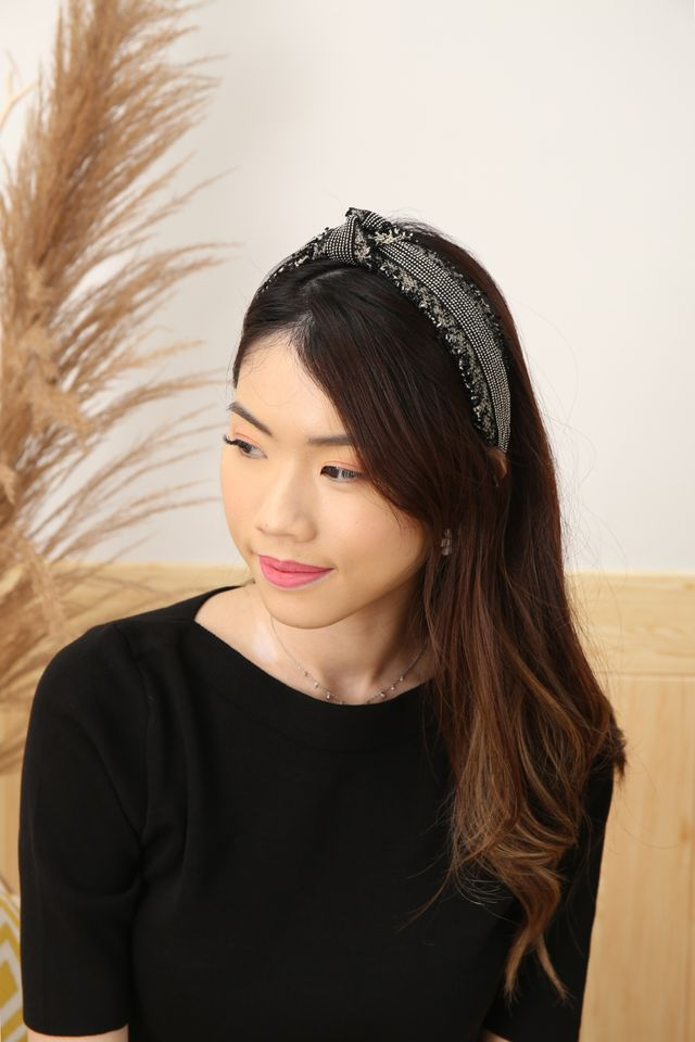 Tweed Knot Headband