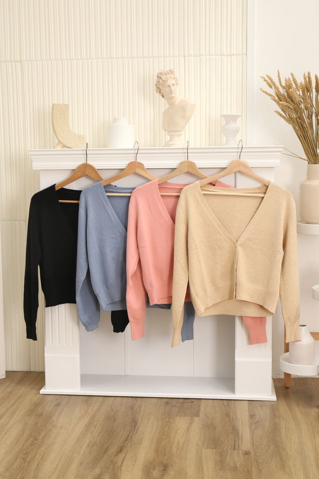Cloud Soft Cardigan (Pink)