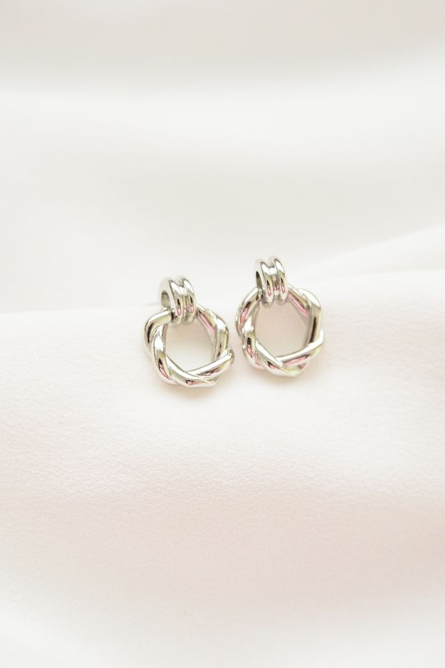 Kira Mini Earstuds in Silver