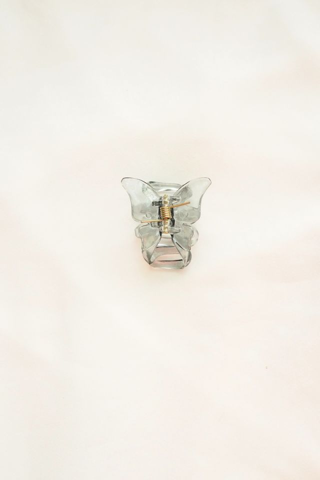 Small Butterfly Clip (Black)