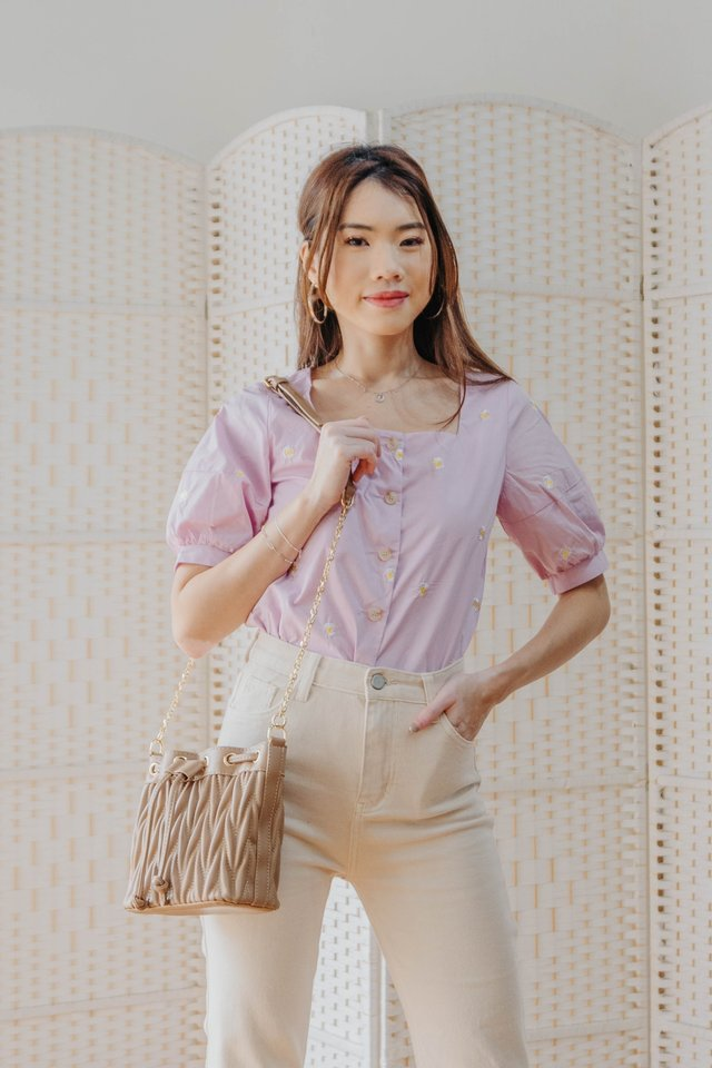 Daisy Daisy Top in Lilac