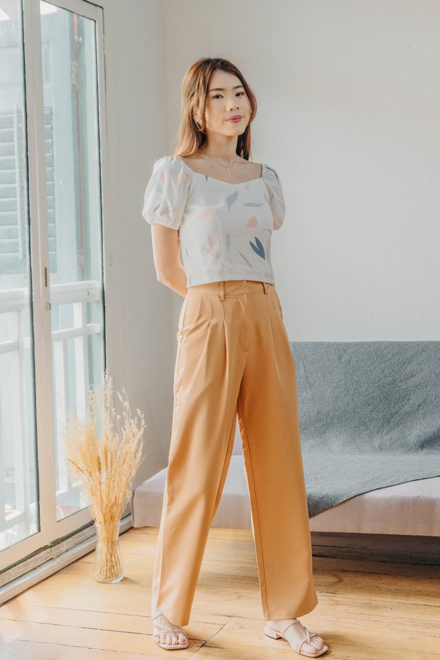 Revelyn Two Way Top in White