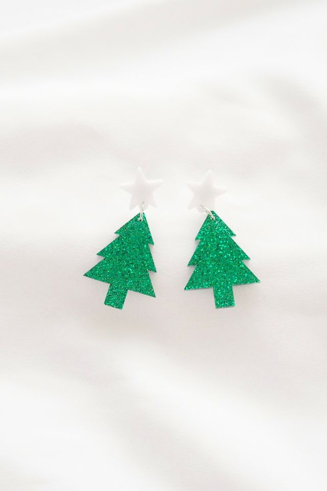 Christmas Tree Earstuds