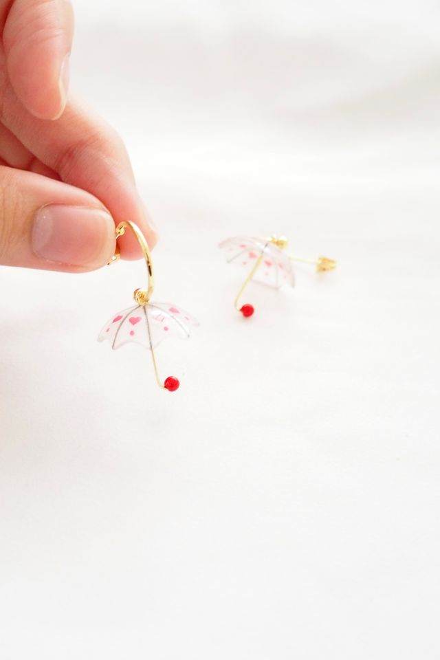 Heart Umbrella Hoops