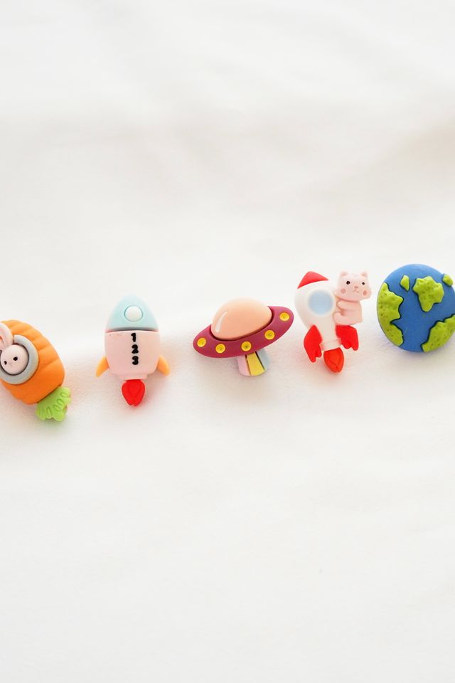 Cute Outer Space Earstuds Set