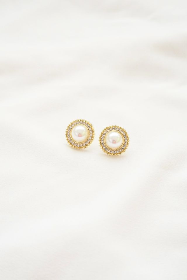 Becky Pearl Earstuds