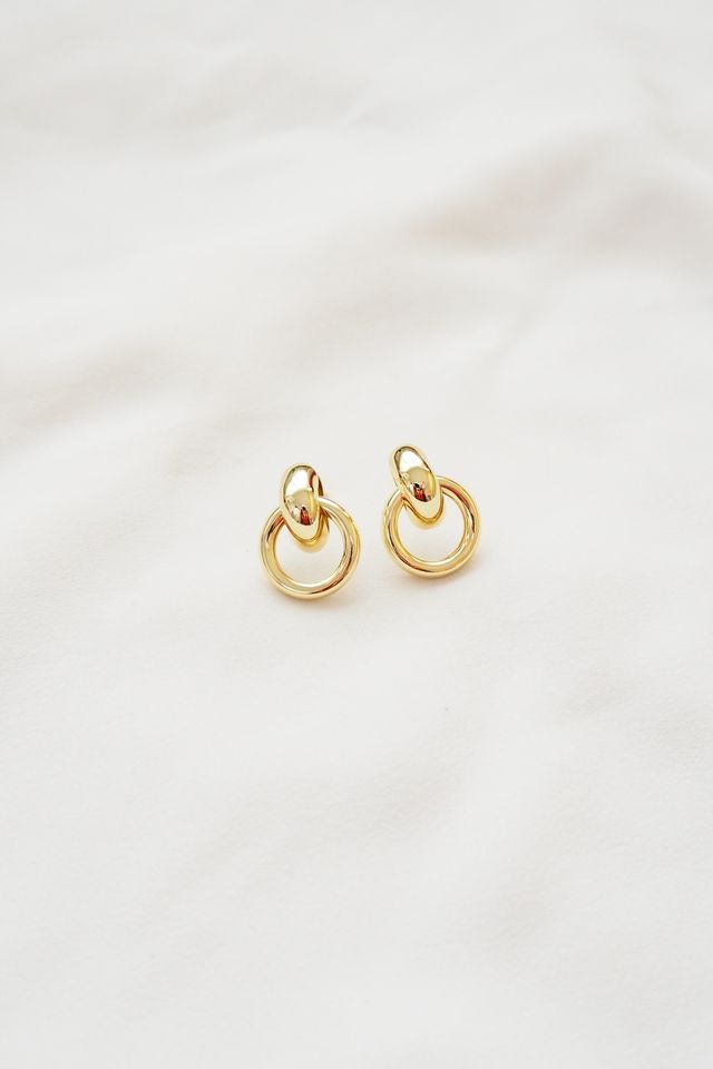 Corrie Earstuds in Gold