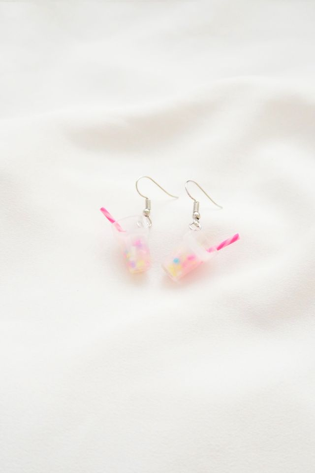 Unicorn Milkshake Earrings