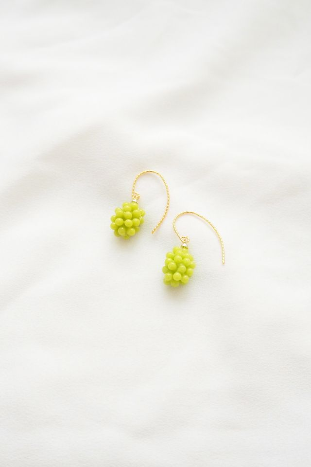 Green Grapes Earrings