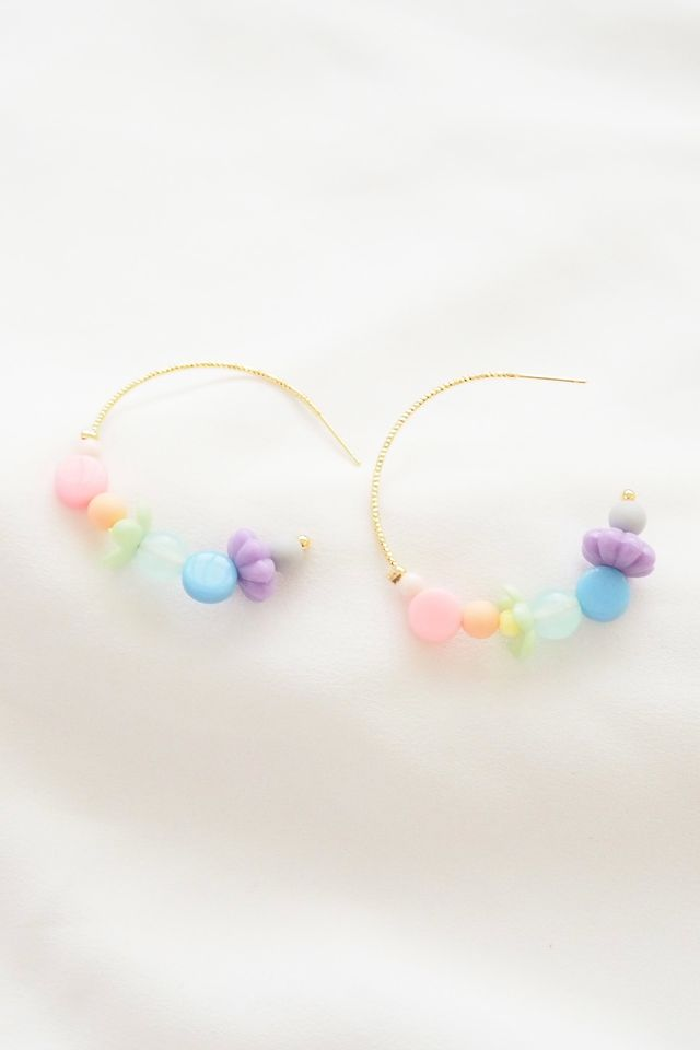 Rainbow Mix Hoops (7)