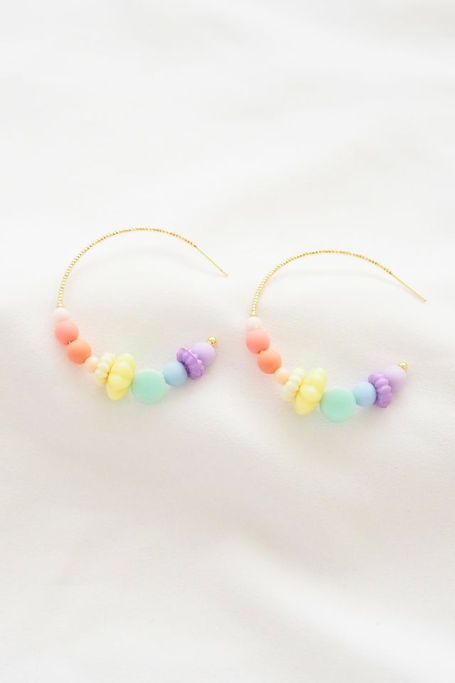 Rainbow Mix Hoops (9)