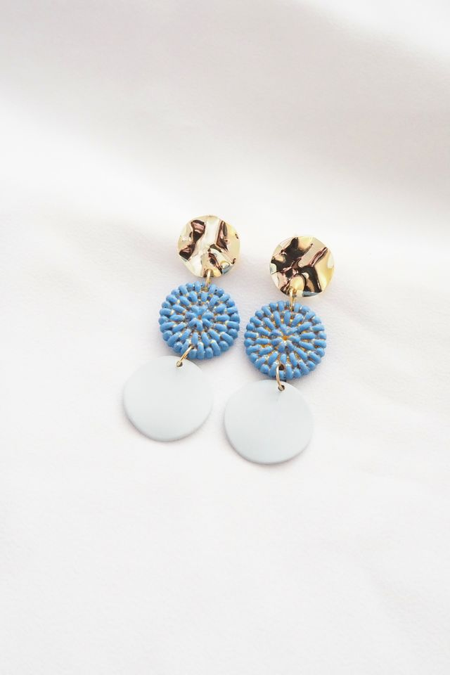 Alin Earstuds in Blue