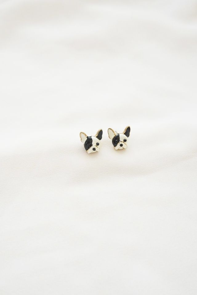 French Bulldog Earstuds
